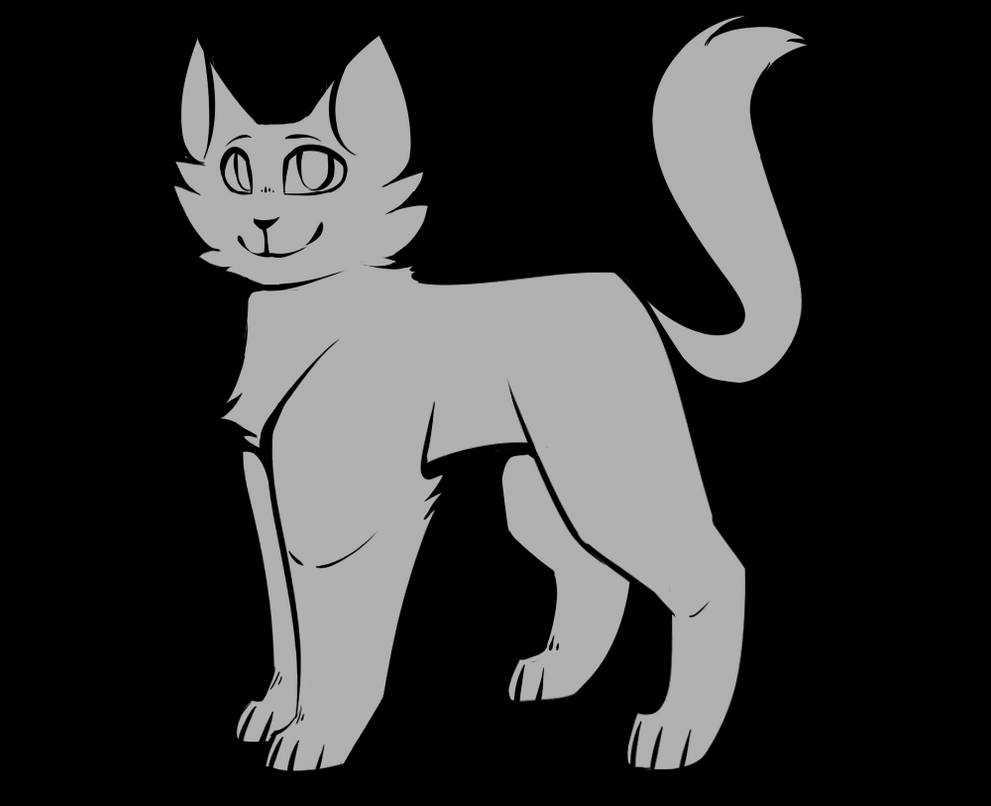 Free To Use Cat Base By Wolfhowler