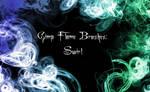 Gimp Flame Swirl Brushes