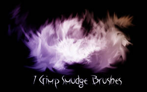 Gimp Smudge Brushes 2 by PigMasterOra