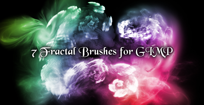 Fractal Brushes for GIMP: Next Generation by PigMasterOra