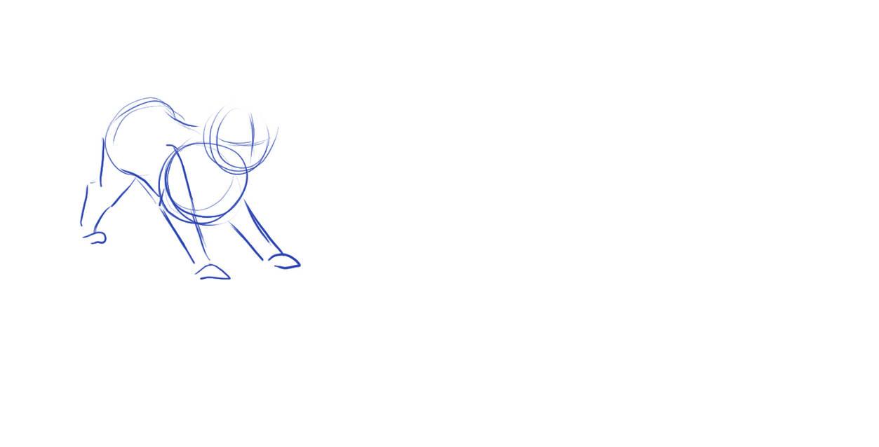 crouch jump animation by bellathecatartist on DeviantArt