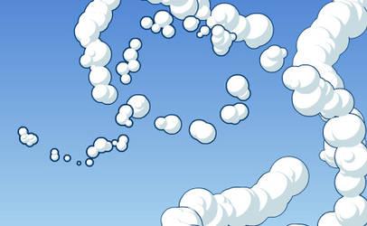 Flash Toy : Cloud Drawer by xa-xa-xa