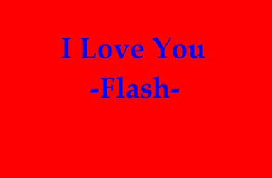 I Love You -Interactive Flash-