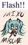 Miku Sound Check -Flash-