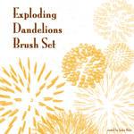 Exploding Dandelion Brush Set