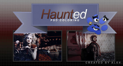 Haunted PSD