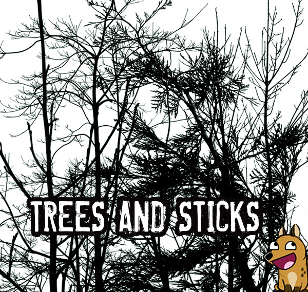 PS Brushes: Trees and Sticks