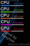 CPU Meter - Clickable