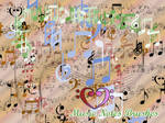 Music note brushes for gimp