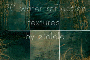 20 100x100 Water Textures by ziolola