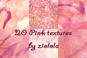 20 Pink Textures, 100x100 px by ziolola