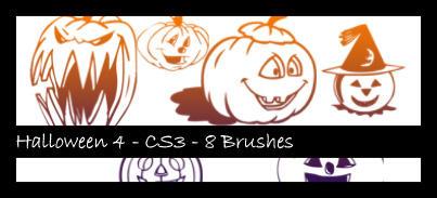 Halloween 4 Photoshop Brush by sabriena