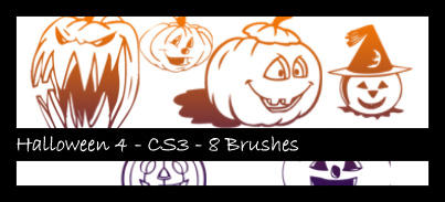 Halloween 4 Photoshop Brush