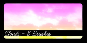 Clouds Brushes - Large
