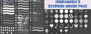 iSmellMusic's Extended Brush Pack
