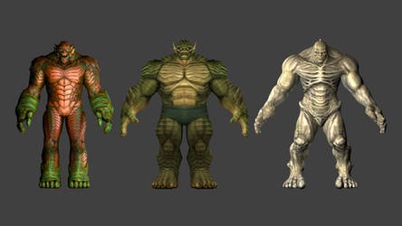Abomination Collection Download Rigged by carlosgremio86