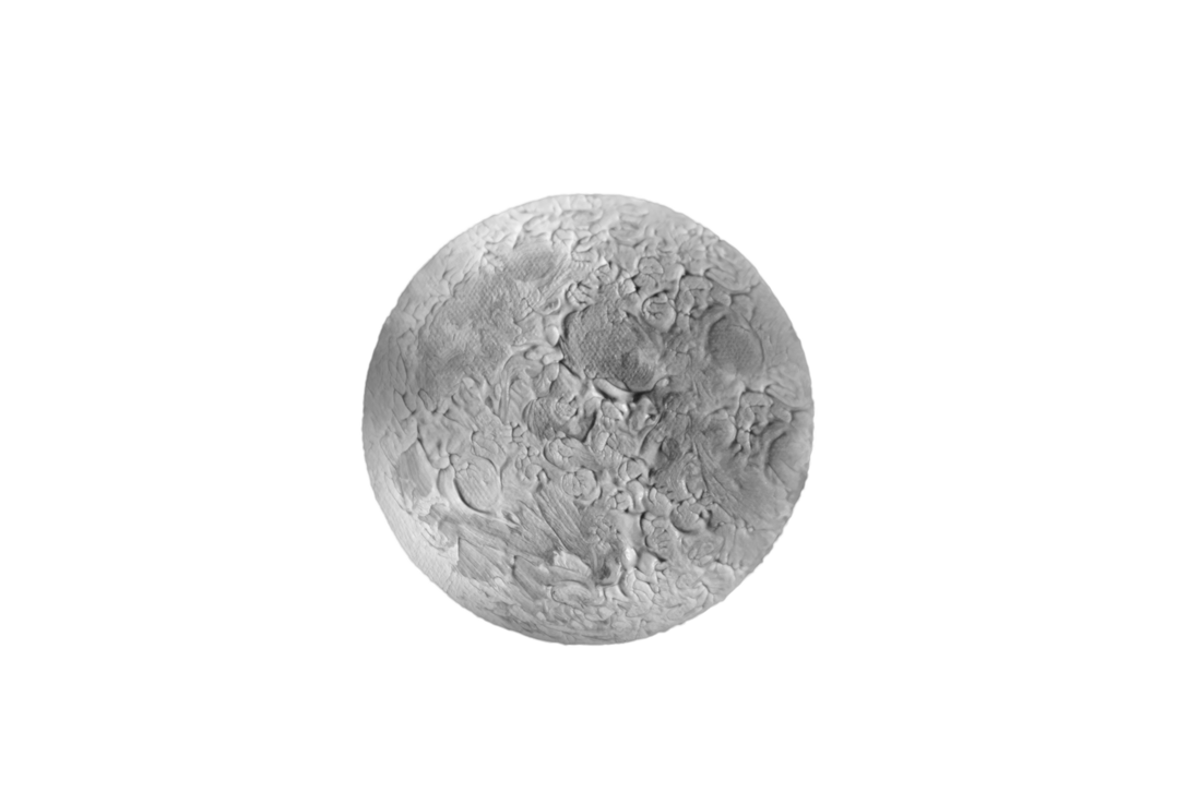 Full Moon B n W with Texture PSD file Stock Image by annamae22 on