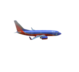 Airplane For Stock Use PSD File - Rough-Cut
