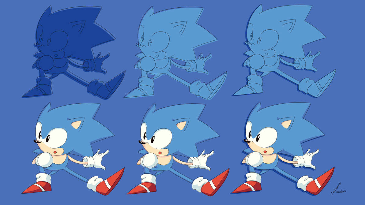 Pack Wallpaper Classic Sonic By Innsomnio On Deviantart