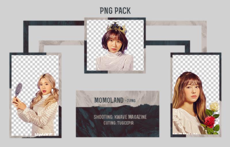 MOMOLAND PNG PACK by TugcePir