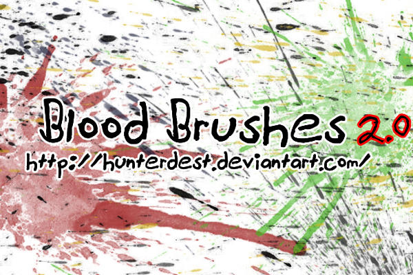 Blood Brushes by EverythingIsInStock