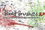 Blood Brushes by EverythingIsInStock