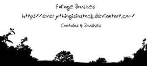 Foliage Brushes by EverythingIsInStock