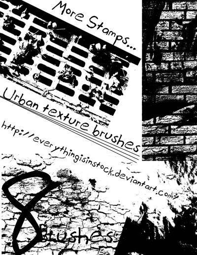 Urban Stamp Brushes 2.0 by EverythingIsInStock