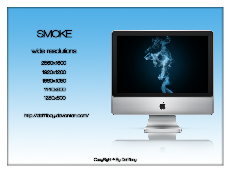 Smoke by Del11boy