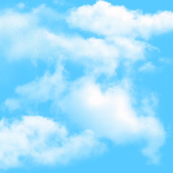 23 cloud brushs