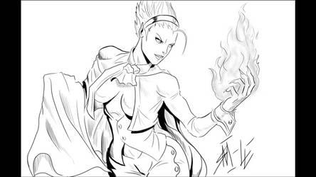 She-mitri by seaniredaleART