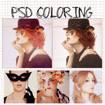 psd coloring New style
