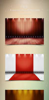 8 FREE Pro Stage Backgrounds