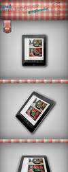 Free iPad Mock-up by graphcoder