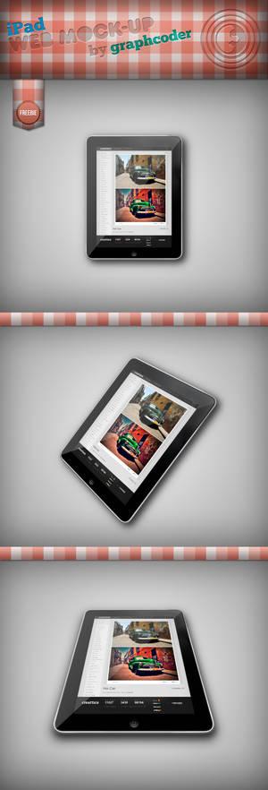 Free iPad Mock-up