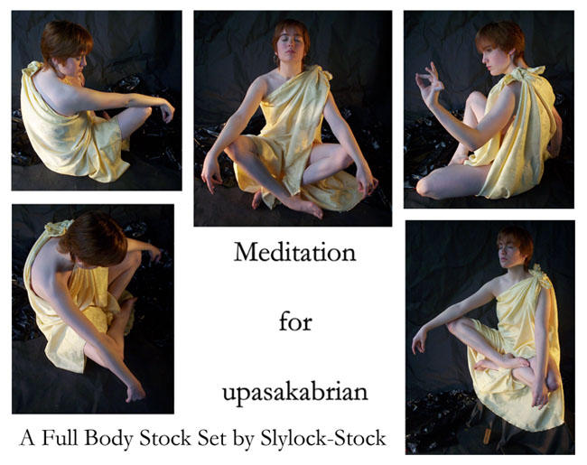 Meditate Set for upasakabrian by Slylock-Stock