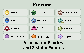 Emote Pack by Krissi001