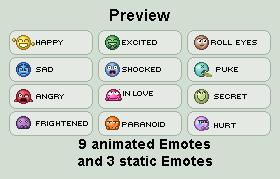 Emote Pack by Krissi001