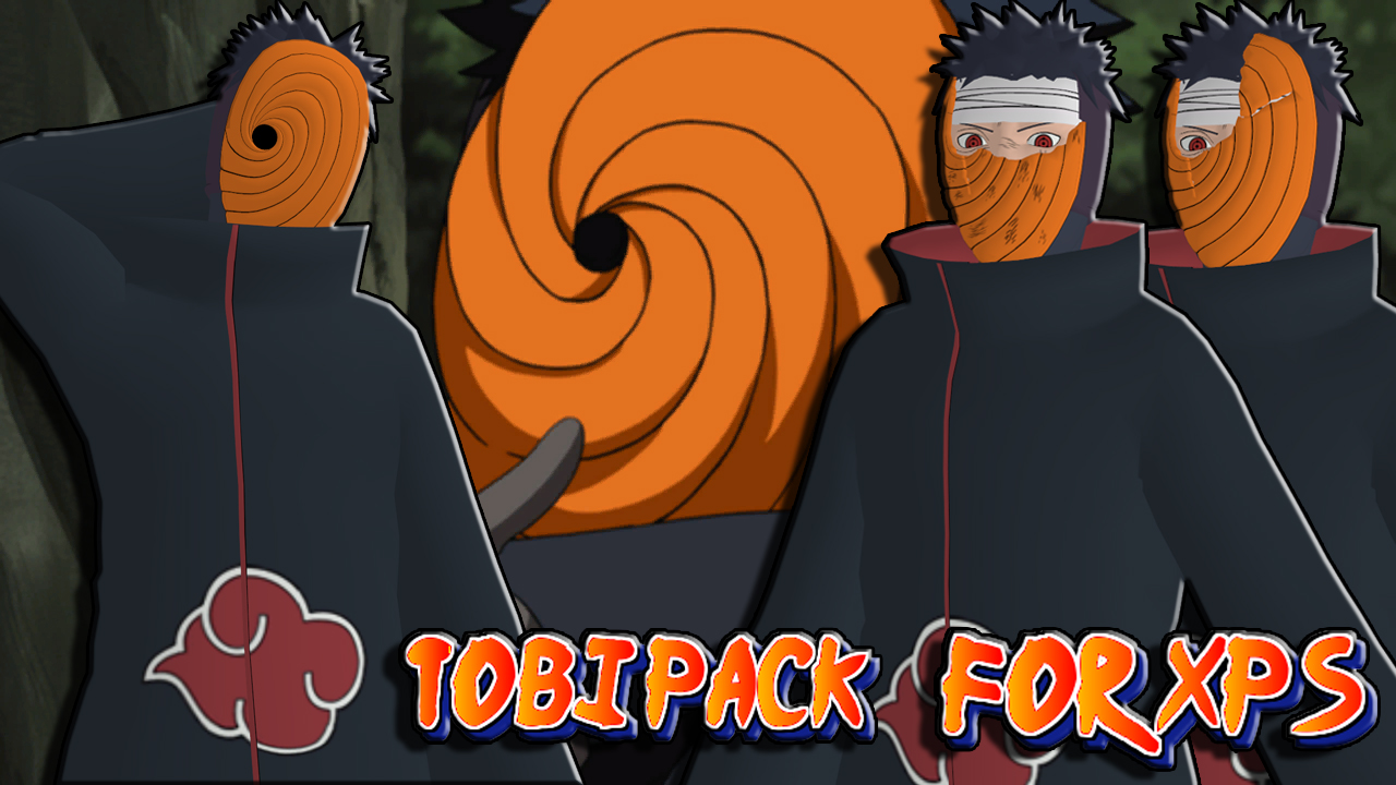 naruto uns3 tobi pack for xps unleashed by