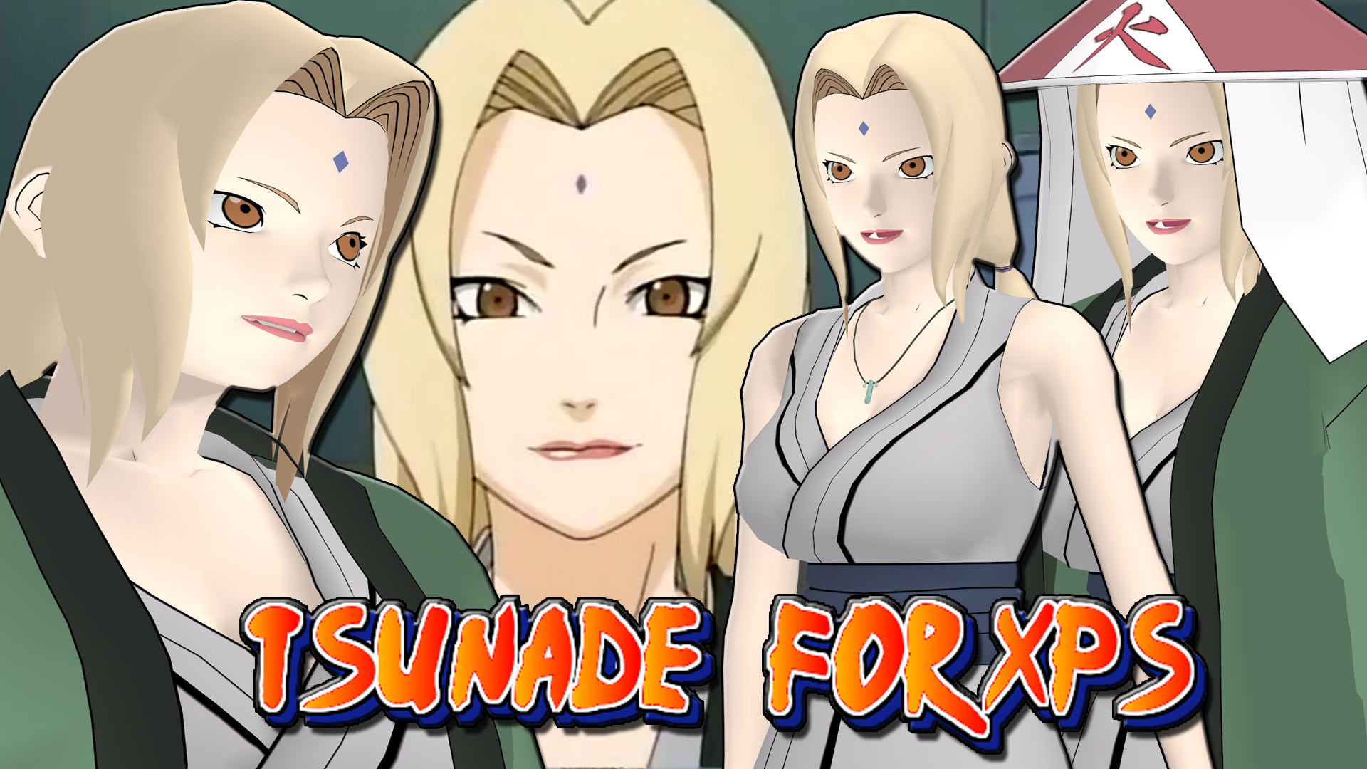 Naruto tsunade honey select