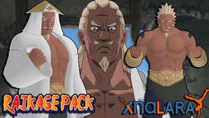 Naruto UNS3 - Raikage Pack FOR XPS