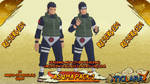 Naruto - Asuma PACK 1 FOR XPS