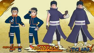 Naruto - Obito Uchiha PACK 1 FOR XPS