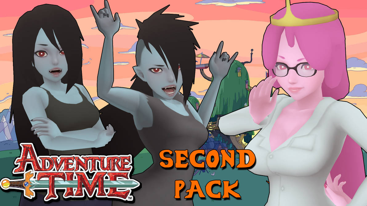 Adventure Time Models Pack 2 For Xps By Asideofchidori On -9609