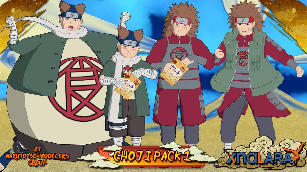 Naruto Choji Akimichi Pack 1 For Xps By Asideofchidori On Deviantart