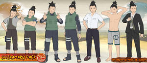 Naruto - Shikamaru Nara PACK FOR XPS