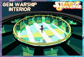 Steven Universe (Map) Gem Warship Interior FOR XPS