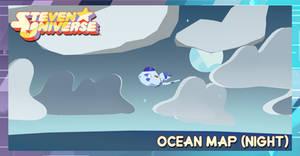 Steven Universe (Map)- Ocean (Night)