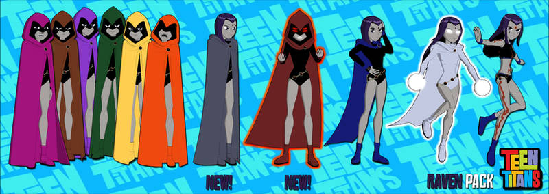 Teen Titans Pack 2: Raven FOR XPS