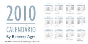 2010 Vector Calendar EPS